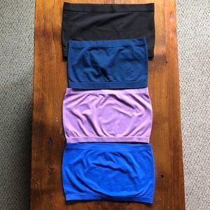 Multi colour Bandeau pack